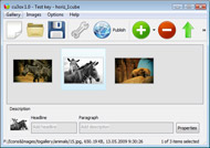 Flash Slide Maker Online Horizontal Scroll Slideshow Iweb