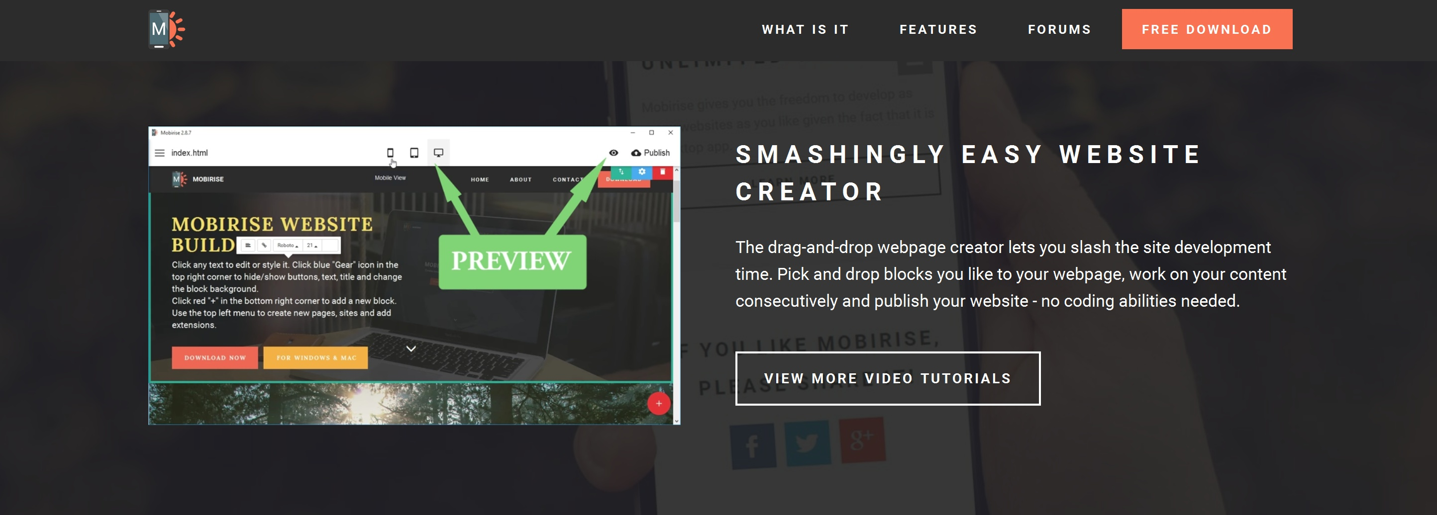 Free Bootstrap Web Page  Builder Review