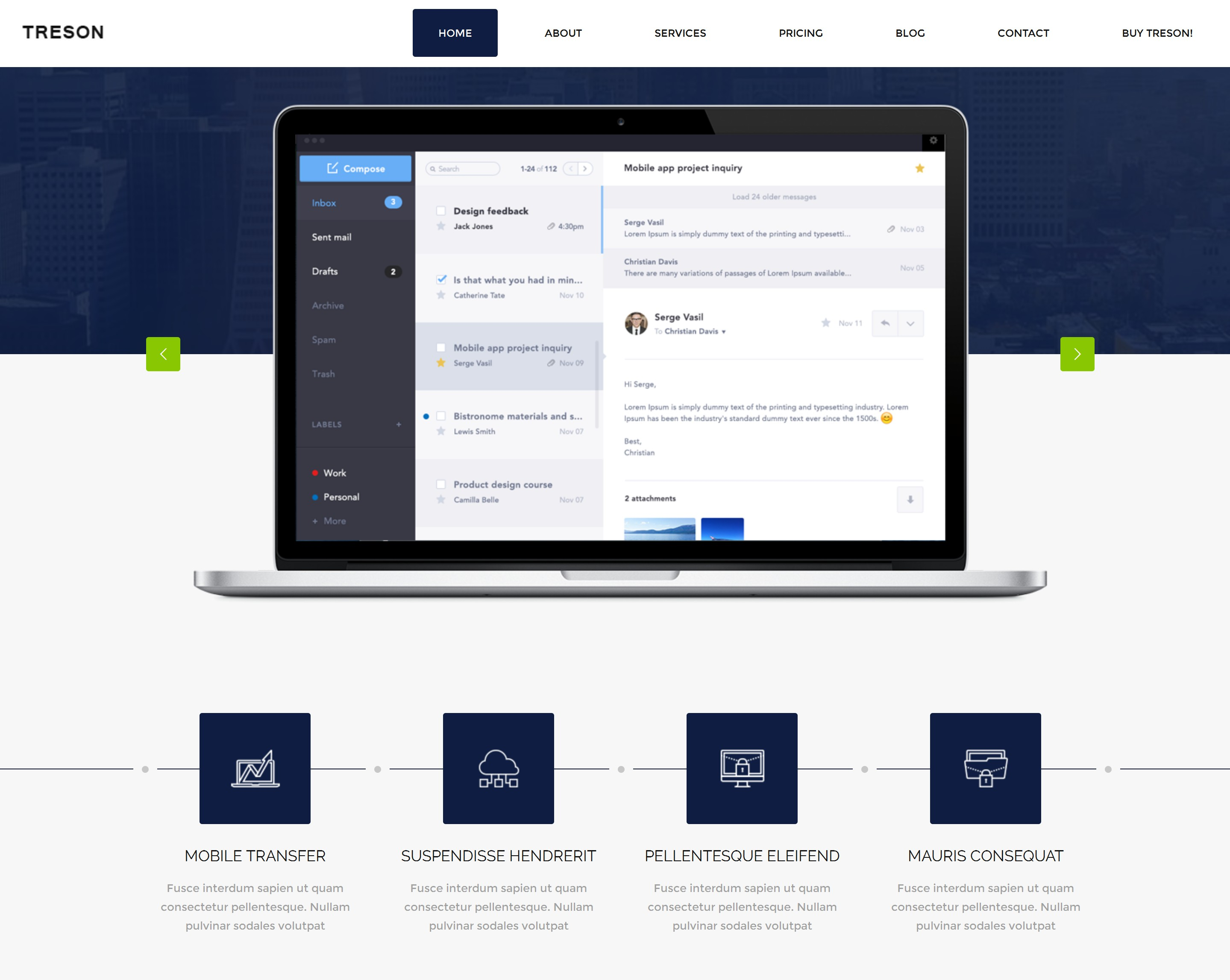 Responsive Bootstrap Resume Theme