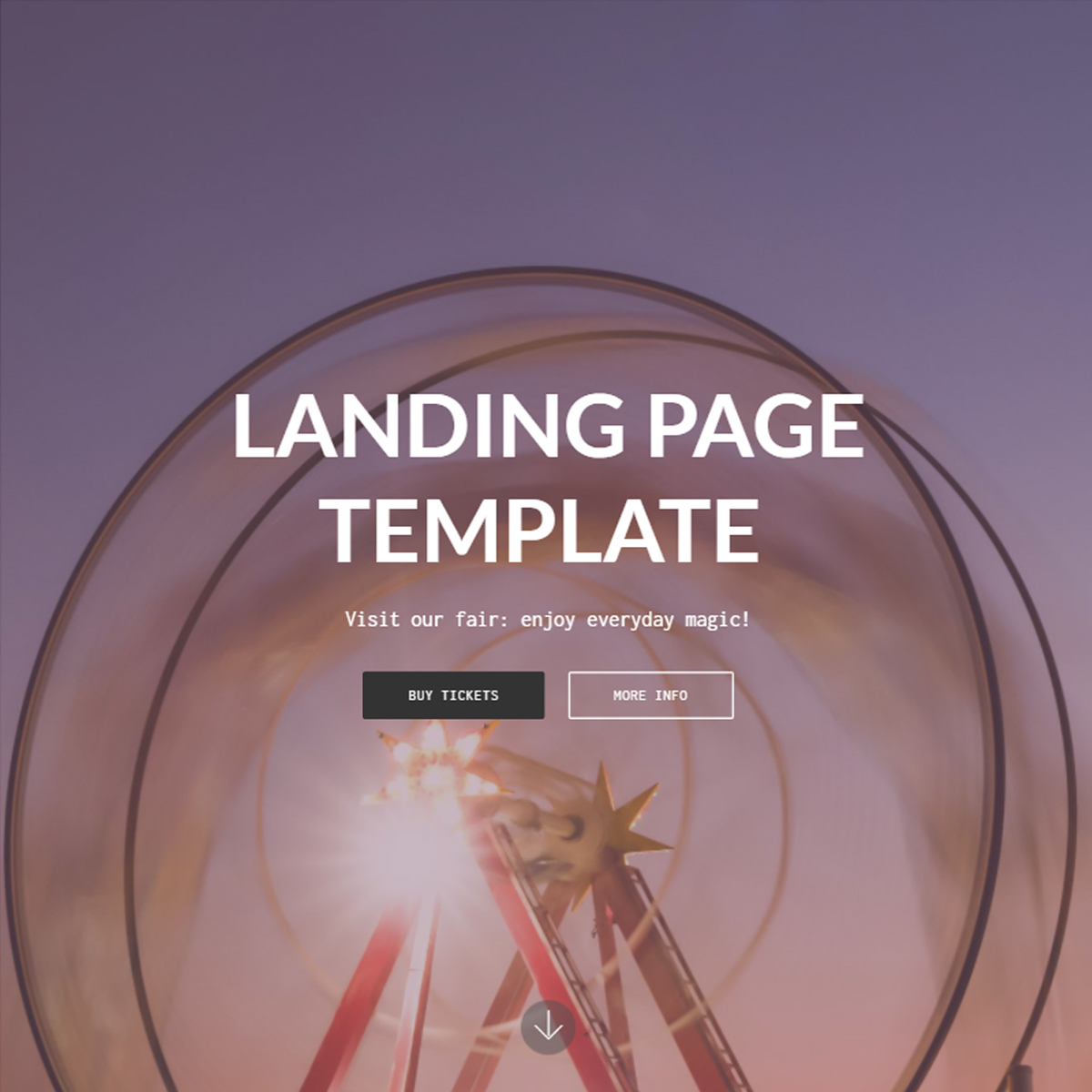 Free Bootstrap Landing Templates